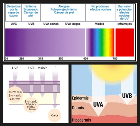 accionespectrosolarenlapiel