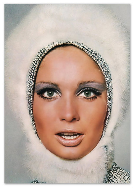 60s makeup twiggy